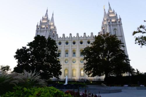 ai- Tempio Mormone, Salt Lake City (Utah)