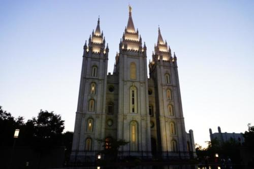 aj- Tempio Mormone, Salt Lake City (Utah)