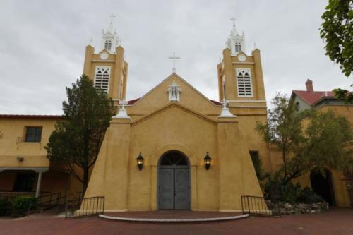 ac- an Felipe De Neri church, Albuquerque (New Mexico)