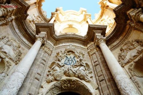 ac- Facciata, Cattedrale di Valencia